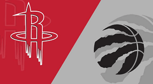 Houston Rockets vs. Toronto Raptors