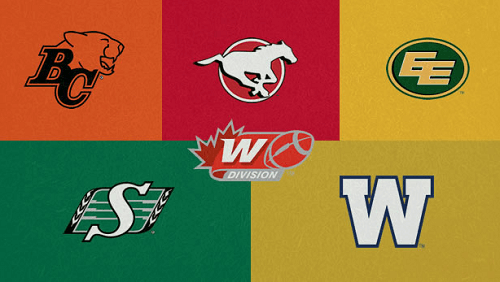 CFL West Teams