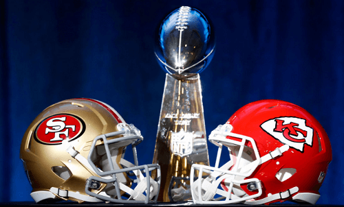 Chiefs vs 49ers LIV Super Bowl