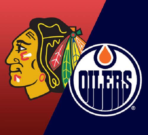 Oilers vs Blackhawks