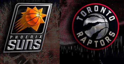 Suns vs Raptors NBA Game